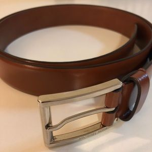 MICHAEL KORS MENS LEATHER BELT